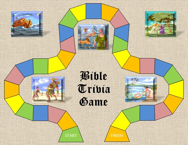 picture relating to Printable Bible Trivia Games identified as Bible Trivia