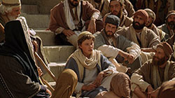 Jesus, at Age Twelve, Teaches in the Temple