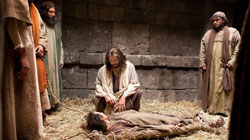 Jesus Forgives a Man's Sins and Heals Him