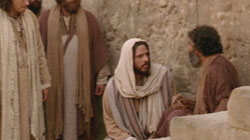 Jesus Heals a Blind Man on the Sabbath