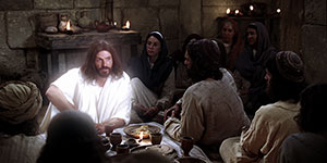 Resurrected Jesus Appears to the Apostles