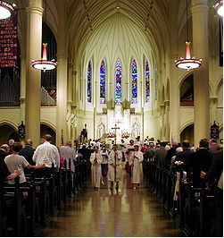 episcopal church cathedral st procession religion marys anglican mary memphis communion episcopalians united service file catholic christianity christians christian beliefs