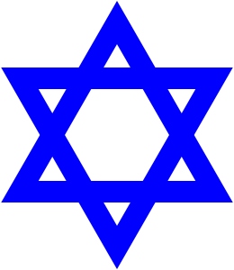 Star of David, the Symbol of Judaism