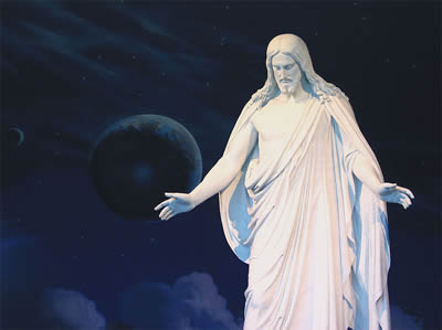 LDS Statue of Jesus Christ