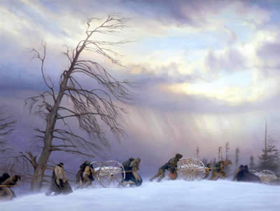 Exodus of the Mormon Pioneers