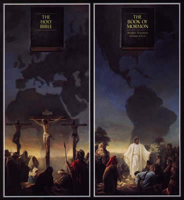 LDS Scriptures: The Book of Mormon and the Holy Bible