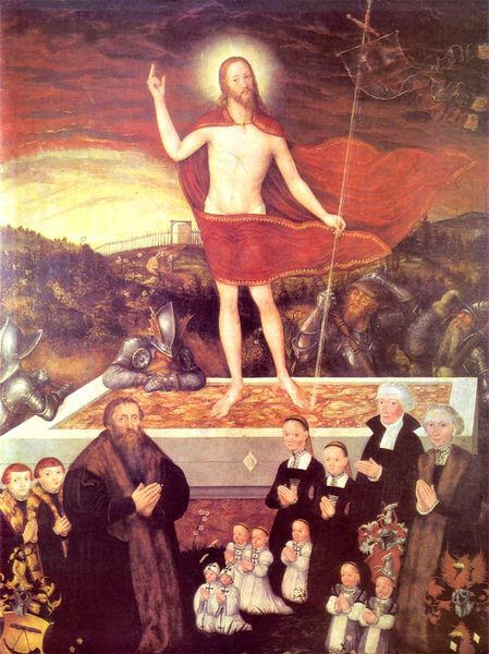 Lutheran Painting of Christ
