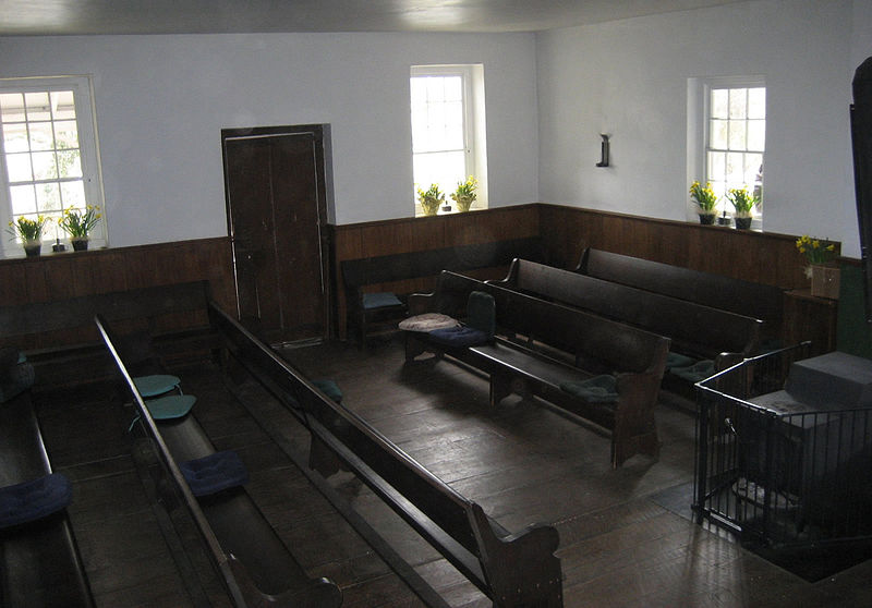 Religious Society of Friends (Quaker) Church (Inside)