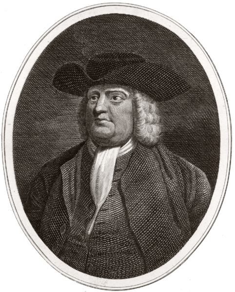William Penn, Founder of the Religious Society of Friends (Quakerism)
