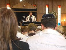 Jewish Synagogue Meeting