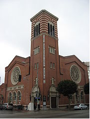 The First Congregational Church of Long Beach, California, a local church of the United Church of Christ