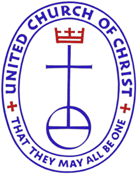 "United Church of Christ Logo: ""That they may be all be one"""